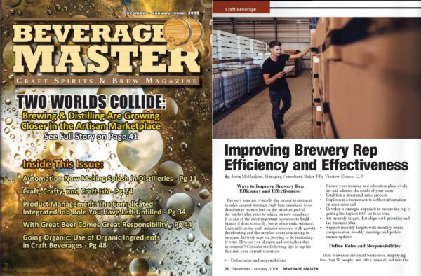 Beverage Master Magazine - Baker Tilly