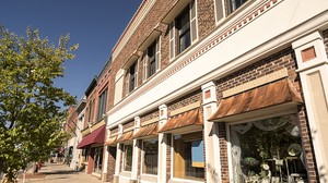 City storefront